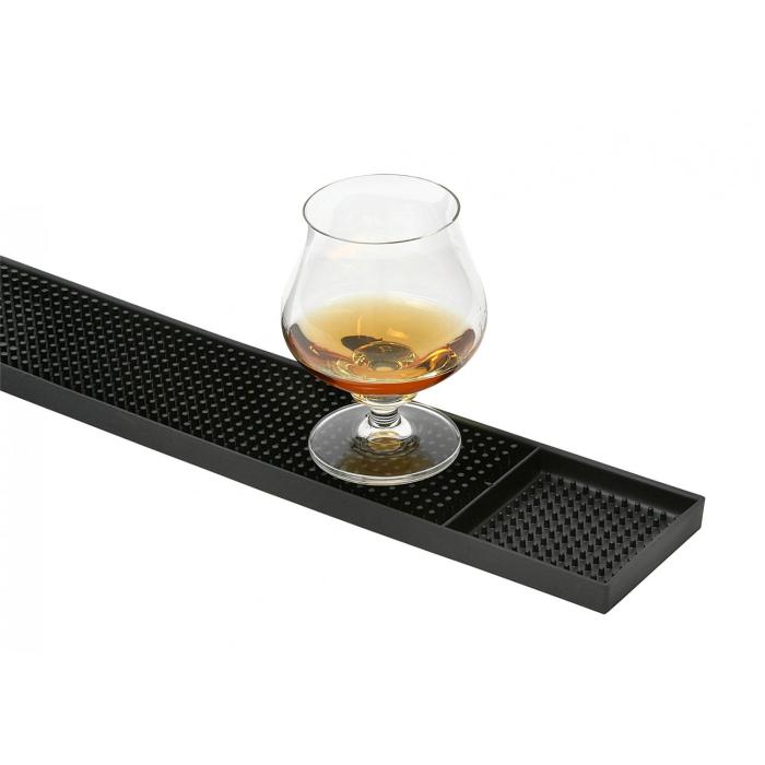 Bar und Serviermatte 30 x 45cm Gummi genoppt für die Bar  Cocktail Zubehör Matte