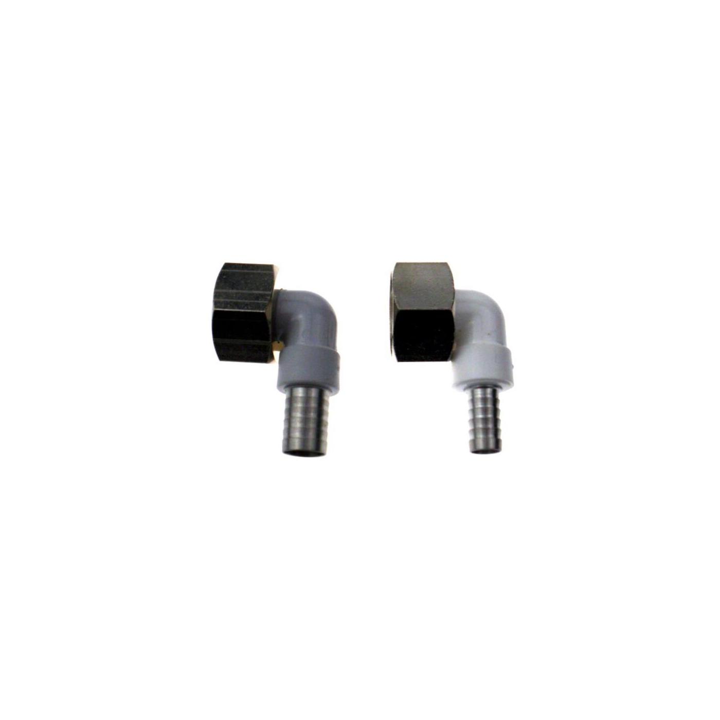 NW 7mm Winkelverschraubung CNS 90° für Bierschlauch 5//8 Zoll