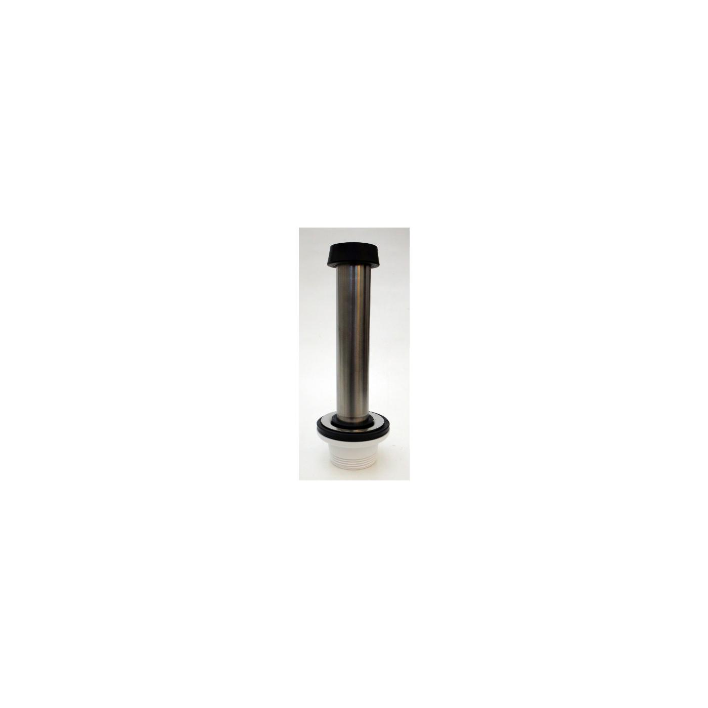 Ab- und Überlaufgarnitur 1 1/4 Zoll für 200 mm Beckentiefe.